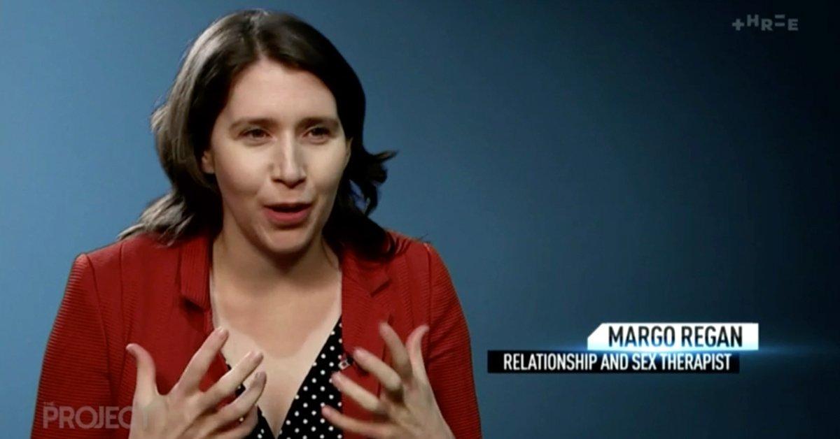 Relationship Counsellor & Sex Therapist Margo Regan
